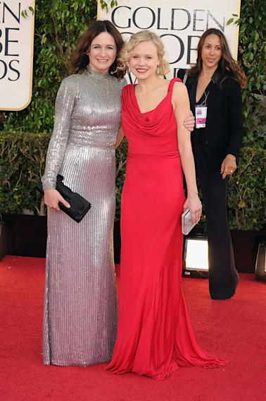 70th Annual Golden Globe Awards - Arrivals: Emily Mortimer and Alison Pill