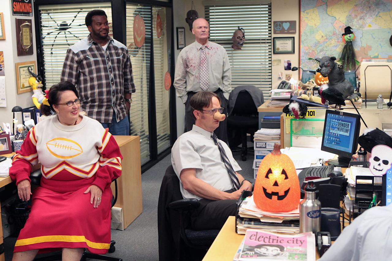 """<p>There was never a shortage of hilarious drama at Dunder Mifflin, especially when <a href=""""https://www.goodhousekeeping.com/holidays/halloween-ideas/"""" target=""""_blank"""">Halloween</a> rolled around. Year after year, Michael Scott, Dwight Schrute, Pam Beesly, and the rest of <em><a href=""""https://www.amazon.com/The-Office-Season-1/dp/B002KE3C6S/ref=sr_1_1_sspa?keywords=the+office&qid=1570560747&sr=8-1-spons&psc=1&spLa=ZW5jcnlwdGVkUXVhbGlmaWVyPUExWklSTVlDT1lLNVRBJmVuY3J5cHRlZElkPUEwNjg4NTc4MTFMUlBSSDBRRzFEOSZlbmNyeXB0ZWRBZElkPUEwMDA3OTkyMTZLNFFRWU1UNDJSSCZ3aWRnZXROYW1lPXNwX2F0ZiZhY3Rpb249Y2xpY2tSZWRpcmVjdCZkb05vdExvZ0NsaWNrPXRydWU%3D&tag=syn-yahoo-20&ascsubtag=%5Bartid%7C10055.g.29402433%5Bsrc%7Cyahoo-us"""" target=""""_blank"""">The Office</a></em> crew went all out for the spooky holiday with their <a href=""""https://www.goodhousekeeping.com/holidays/halloween-ideas/a28087701/the-office-cast-costume-ideas/"""" target=""""_blank"""">outrageous costumes</a> and haunted warehouse parties. But while celebrating the end of October, something unexpected always seemed to happen at the Scranton branch — and, surprisingly, it didn't always involve Dwight. </p><p>Even though <em><a href=""""https://www.amazon.com/The-Office-Season-1/dp/B002KE3C6S/ref=sr_1_1_sspa?keywords=the+office&qid=1570560747&sr=8-1-spons&psc=1&spLa=ZW5jcnlwdGVkUXVhbGlmaWVyPUExWklSTVlDT1lLNVRBJmVuY3J5cHRlZElkPUEwNjg4NTc4MTFMUlBSSDBRRzFEOSZlbmNyeXB0ZWRBZElkPUEwMDA3OTkyMTZLNFFRWU1UNDJSSCZ3aWRnZXROYW1lPXNwX2F0ZiZhY3Rpb249Y2xpY2tSZWRpcmVjdCZkb05vdExvZ0NsaWNrPXRydWU%3D&tag=syn-yahoo-20&ascsubtag=%5Bartid%7C10055.g.29402433%5Bsrc%7Cyahoo-us"""" target=""""_blank"""">The Office</a></em> ended back in 2013, the NBC comedy's Halloween episodes are still worth re-watching throughout October. Of course, it's incredibly hard to pick favorites — like Michael, they're all hilarious in their own unique way. But to help you choose what to watch first, we've ranked every <em>Office</em> Halloween episode from best to worst. Scroll through our list, and be"""