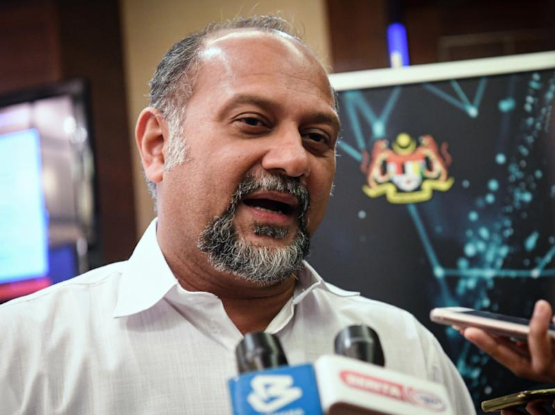 Communications and Multimedia Minister Gobind Singh Deo says the government is studying new ways to deal with social media posts that threaten to disrupt national security and public order. — Bernama pic