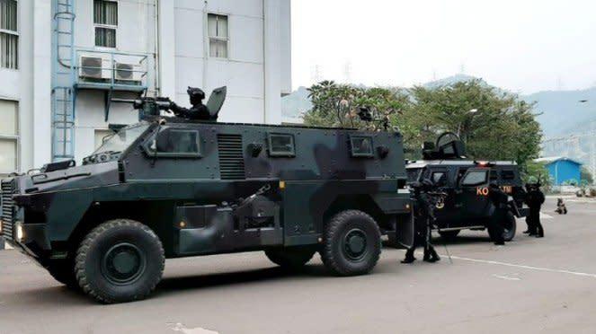 VIVA Militer : Koopssus TNI gelar latihan Penanggulangan Terorisme di Banten