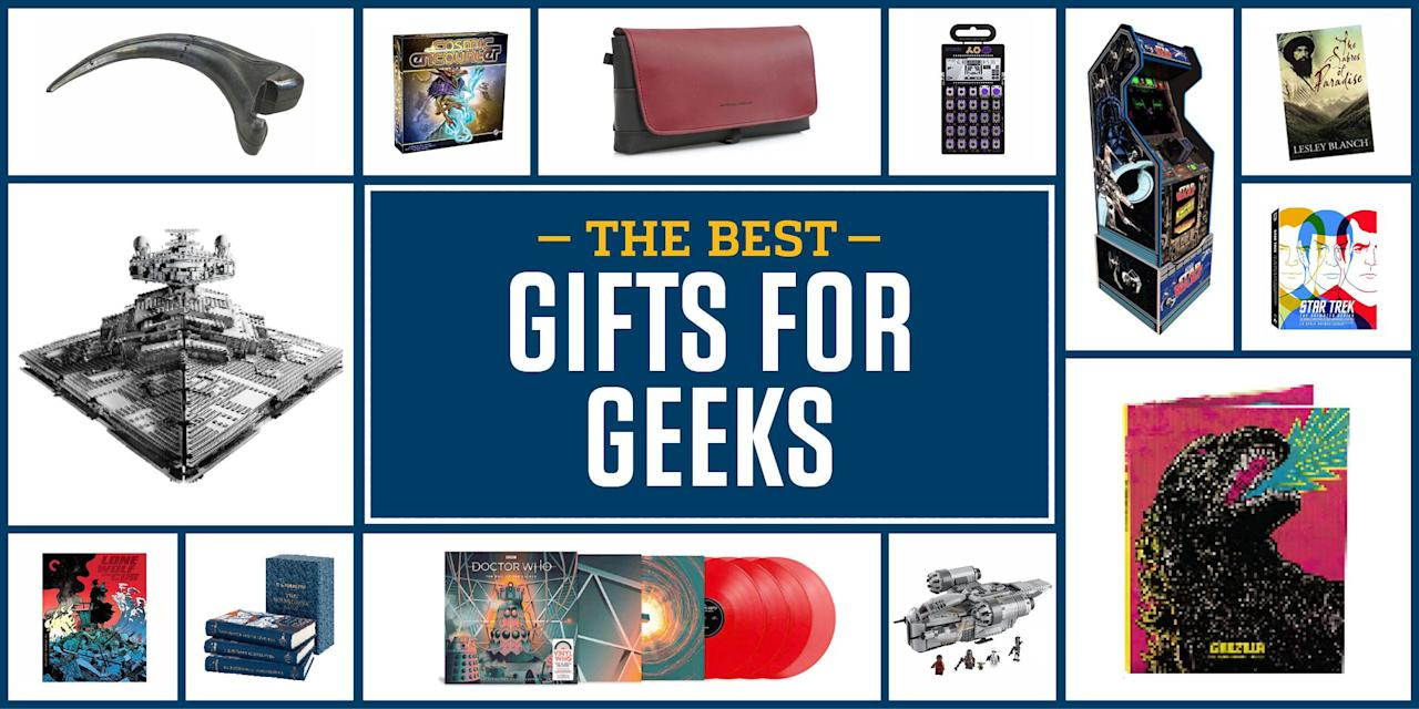<p>Gifts for nerds sort of suck. You have the ThinkGeek product machine, pumping out one-size-fits-all presents, and everything else is of equally poor or uninspiring quality. No. More. Star. Trek. Socks.</p><p>The selections here aim to be something different. Spread across a variety of pop culture properties, these gifts have a certain sophistication or story to them that any true super fan will enjoy.</p>