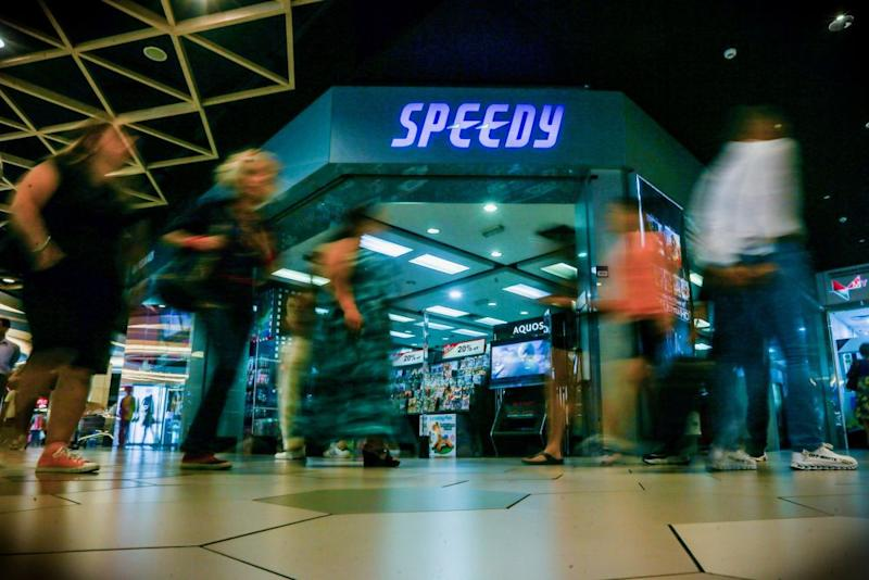 A general view of Speedy Video at Mid Valley Megamall September 10, 2019. — Picture by Hari Anggara