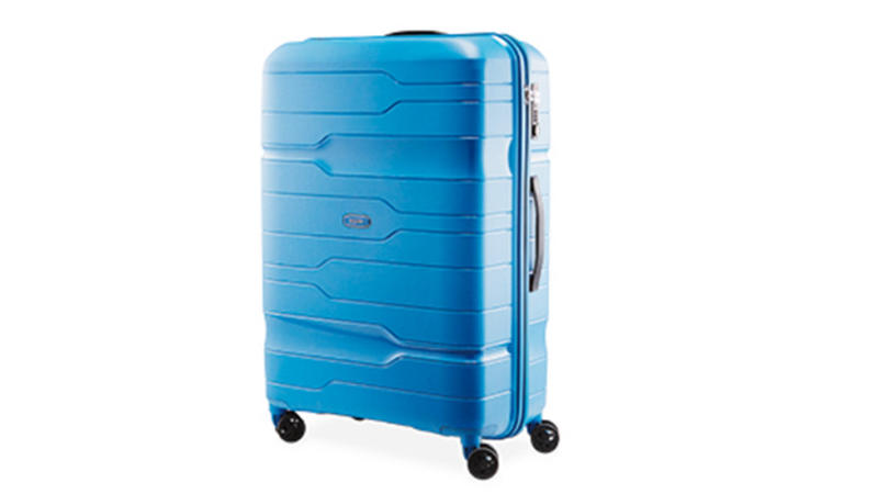 The Polypropylene 76cm suitcase is on sale for just $80 for Saturday's Special Buys