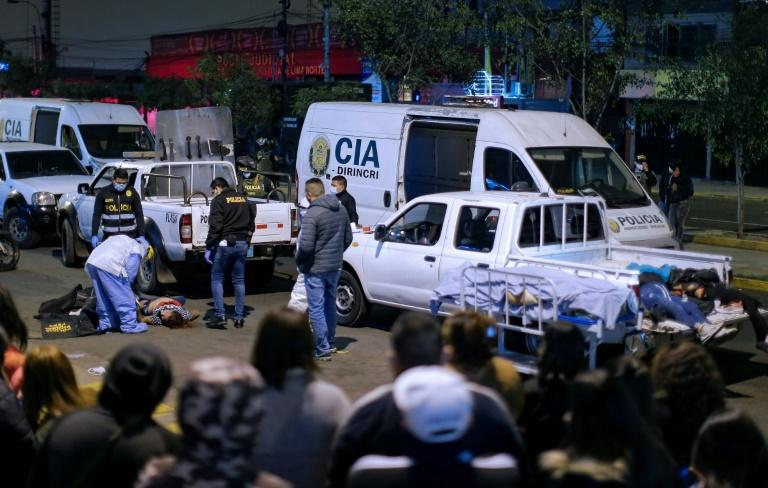 13 dead in crush at Peru party raided over coronavirus violations