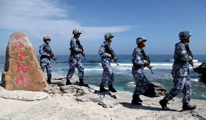 Beijing is facing growing criticism on the world stage over its territorial claims in the South China Sea. Photo: Reuters