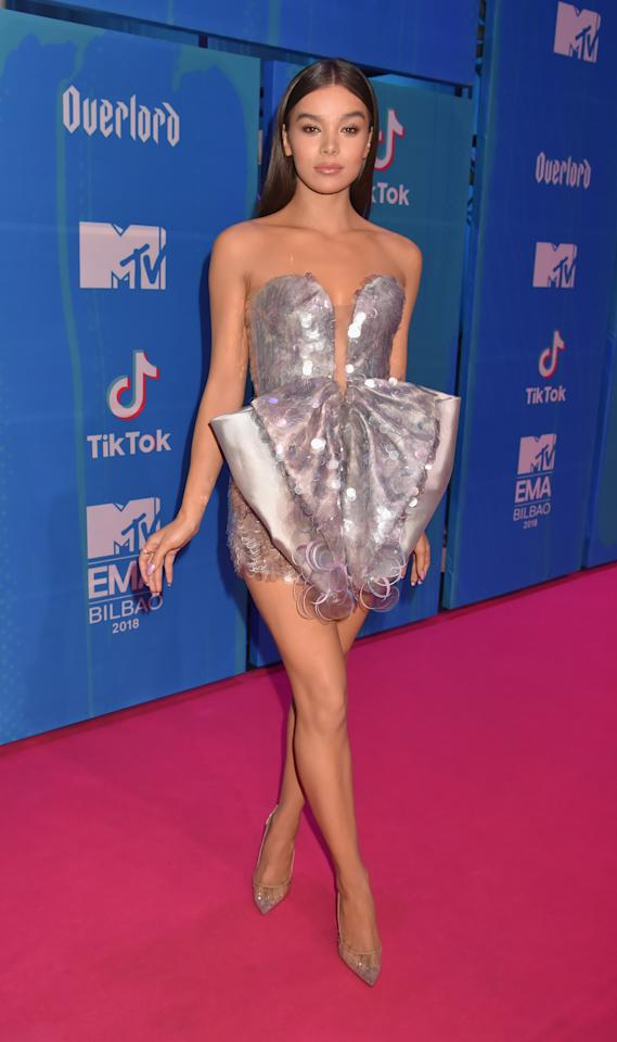 <p>Hailee Steinfeld hosted the high profile event, which features performances from Nicki Minaj, Little Mix and Janet Jackson. Photo: Getty Images </p>