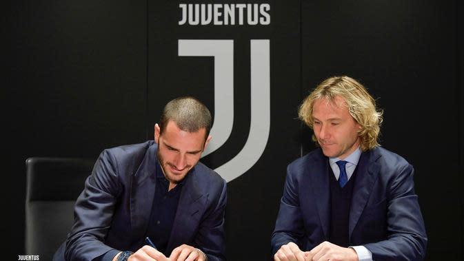 Leonardo Bonucci Perpanjang Kontrak di Juventus Hingga 2024