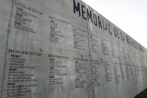 The Tour de France started in Arras from the site of a memorial wall that shows the names of some 24,000 allied soldiers