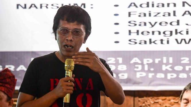 Adian Napitupulu ke Polda Metro, Cek Pendemo dan Jurnalis yang Ditahan