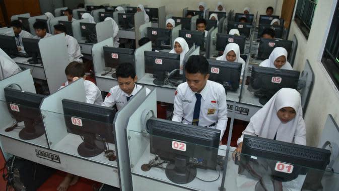 Ilustrasi pelajar di Surabaya, Jawa Timur. (Foto: Liputan6.com/Dian Kurniawan)