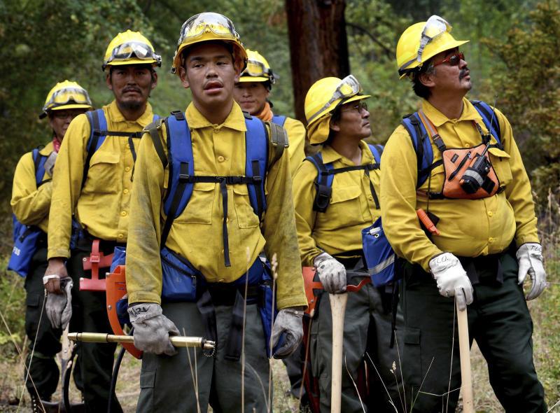 Virus Outbreak Sick Firefighters