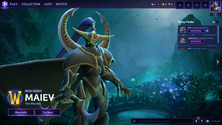 Heroes of the Storm   Graphics settings low