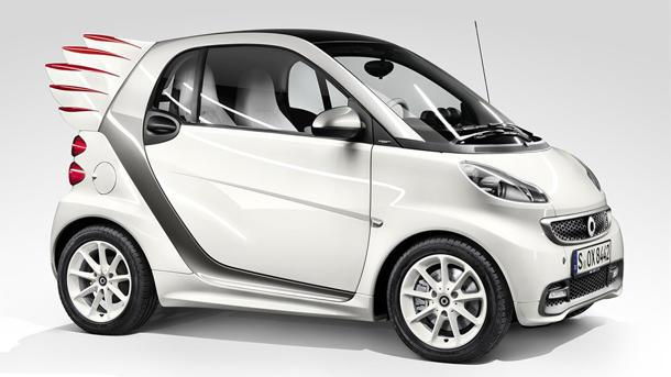 Smart to build a Fortwo with wings, for cool kids only