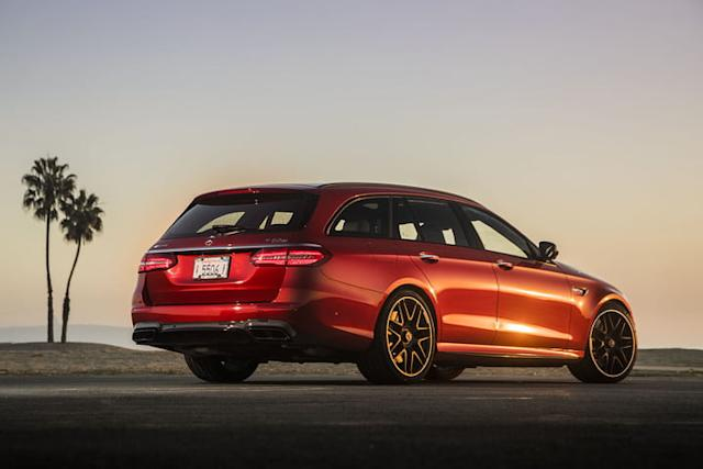 the 2018 mercedes amg e63 s priced in us at 106950 wagon 1