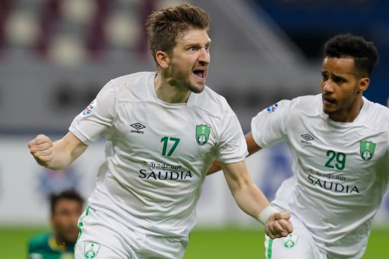 Marin fires Saudi's Al Ahli into Asian Champions League last 16