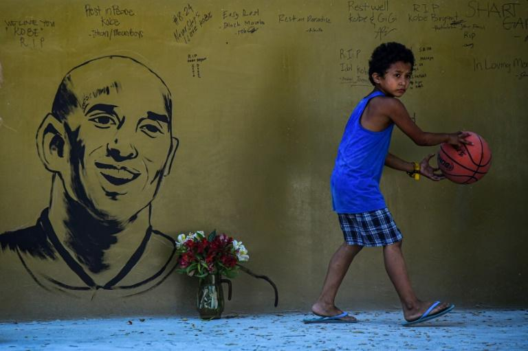 Devastated locals had hoped that Bryant would one day step into what they called the 'House of Kobe' -- a court adorned with wall-sized murals of his likeness