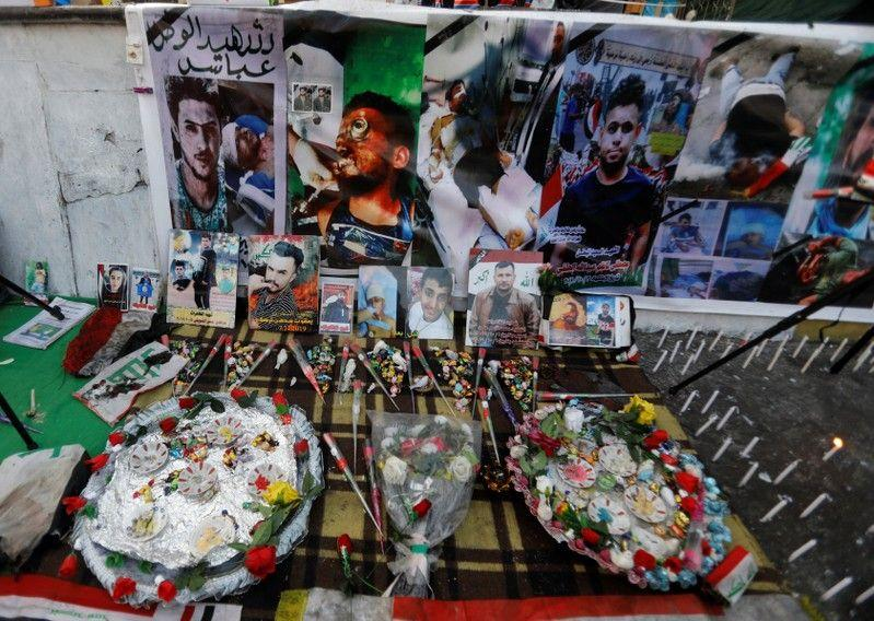 Doa, lilin dan darah jadi koleksi museum darurat peringatan korban di Baghdad