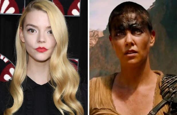 Anya Taylor-Joy to Play 'Furiosa' in 'Mad Max: Fury Road' Spinoff With Chris Hemsworth, Yahya Abdul Mateen II