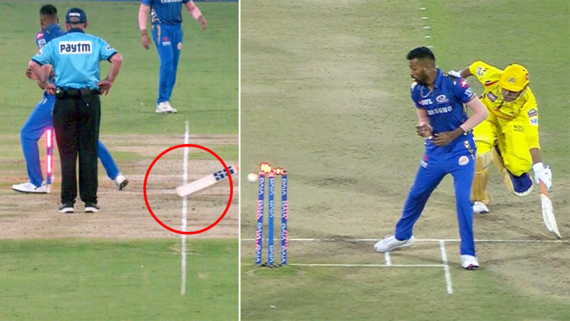 Image result for dhoni runout