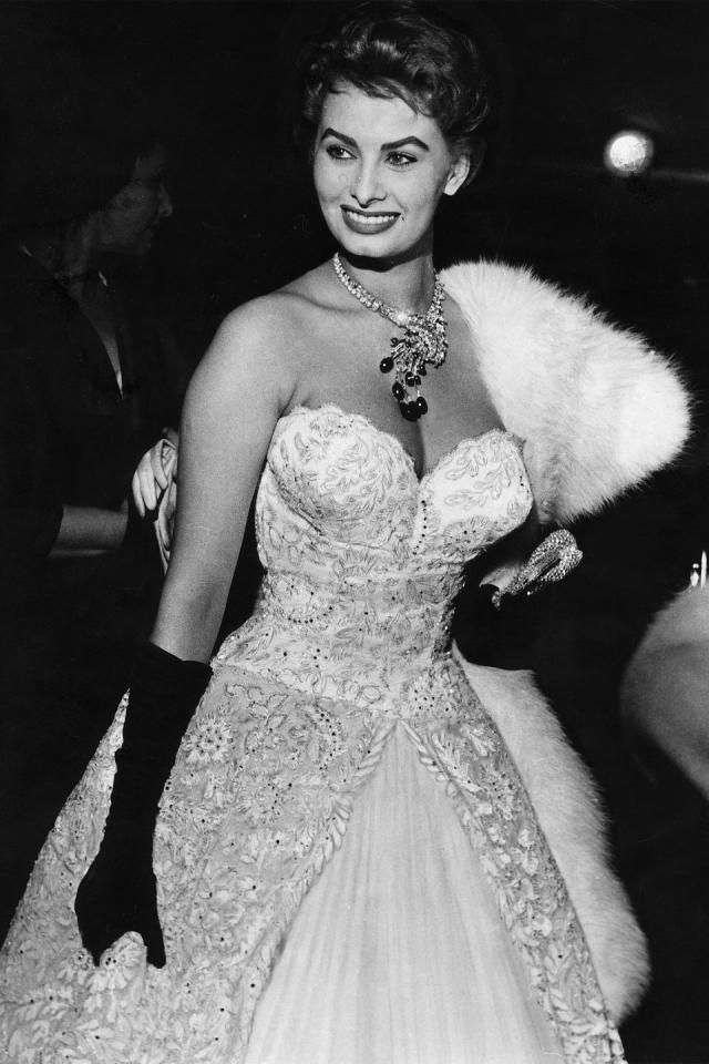 <p>Sophia Loren</p>