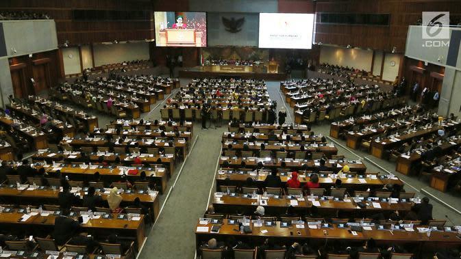 Seluruh Fraksi DPR Setujui RUU Pertanggungjawaban APBN 2019