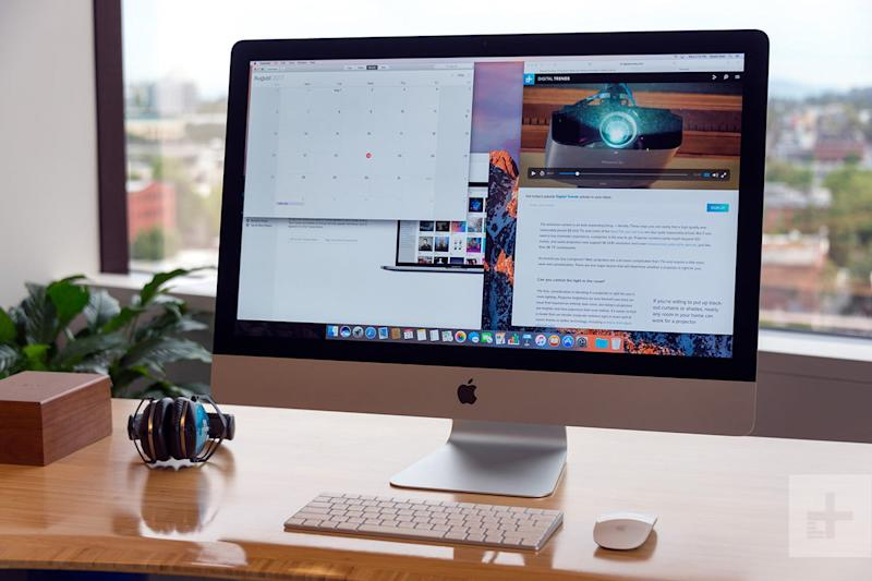 Apple iMac with Retina 5K Display review full angle