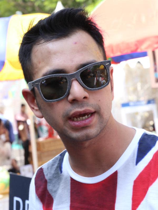 Raffi Ahmad. (Galih W. Satria/Bintang.com)
