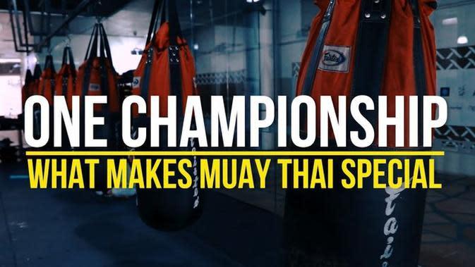 VIDEO: Apa yang Membuat Muay Thai Jadi Spesial di One Championship ?