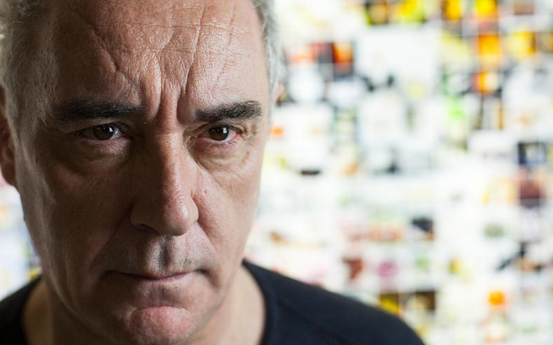 Chef Ferran Adrià has been in Barcelona for lockdown - elBulliarchive Juanjo Everman