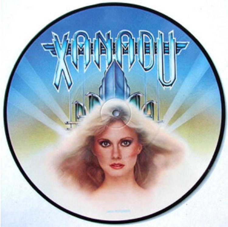Xanadu picture disc worth $8.850 now because Olivia Newtown-John had the release withdrawn from stores.
