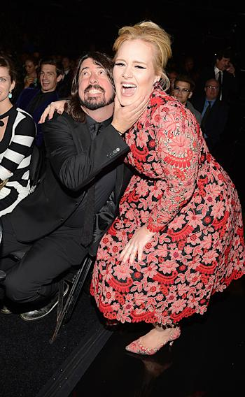 Dave Grohl, Adele