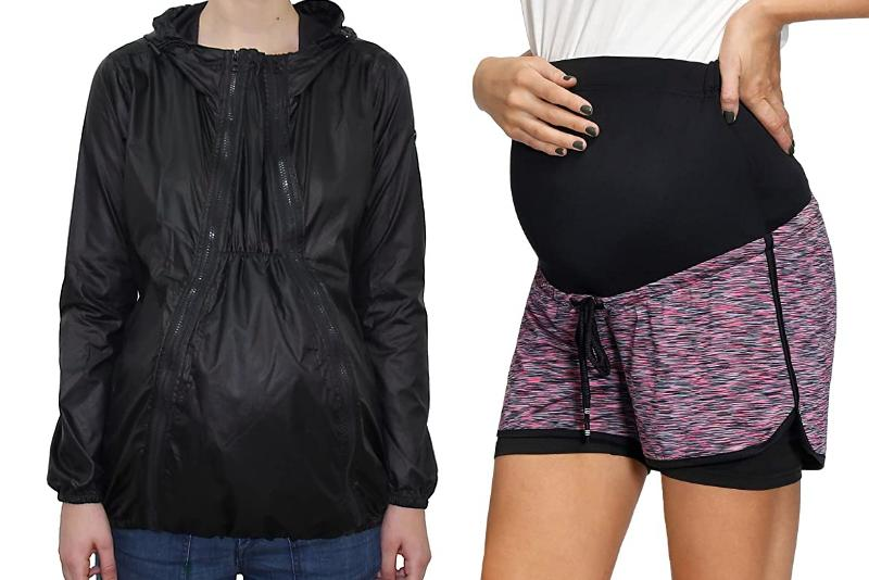 These maternity activewear picks are cute and flattering.