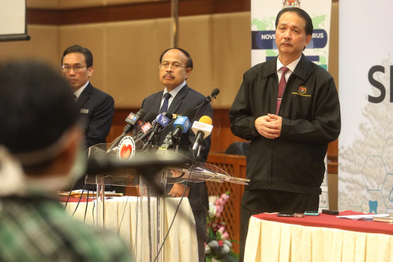 Health director-general Datuk Dr Noor Hisham Abdullah said a medical team is scheduled to arrive from China in two weeks to share their experience with Covid-19. — Picture by Choo Choy May