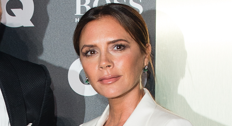 Victoria Beckham revealed her new LED face mask on Instagram [Photo: Getty]