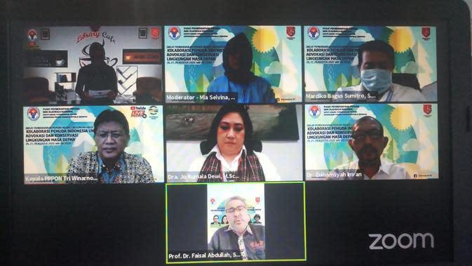 Ratusan Orang Ikut Diklat Virtual Kemenpora
