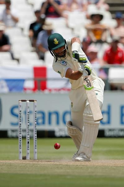 Pieter Malan batted for over six hours in an impressive Test debut