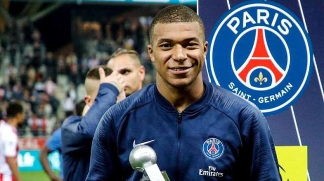 Penyerang Paris Saint-Germain (PSG), Kylian Mbappe