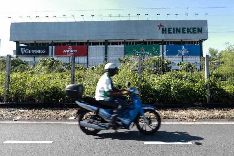 A general view of Heineken Malaysia's brewery in Petaling Jaya March 25, 2020. — Picture by Ahmad Zamzahuri
