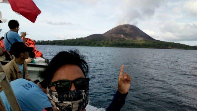 BMKG: Info Akan Gempa Besar akibat Letusan Gunung Krakatau Hoax