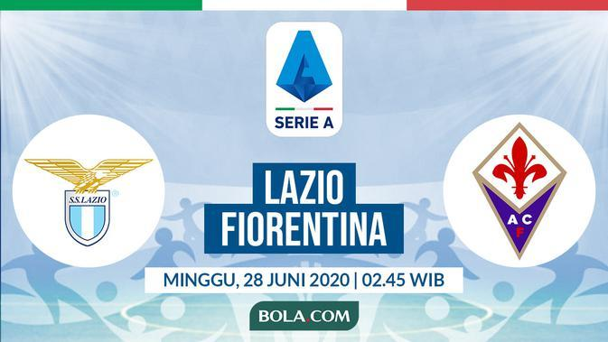Serie A: Lazio vs Fiorentina. (Bola.com/Dody Iryawan)