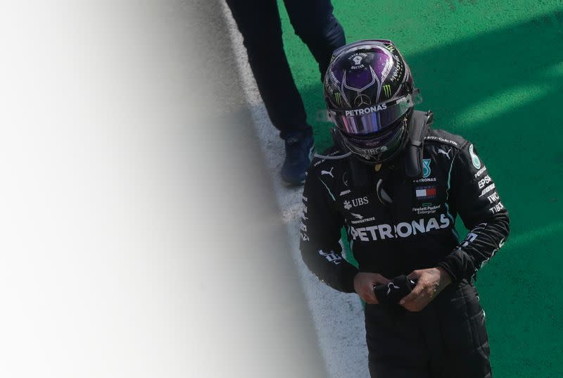 It wasn't meant to be today, says Hamilton