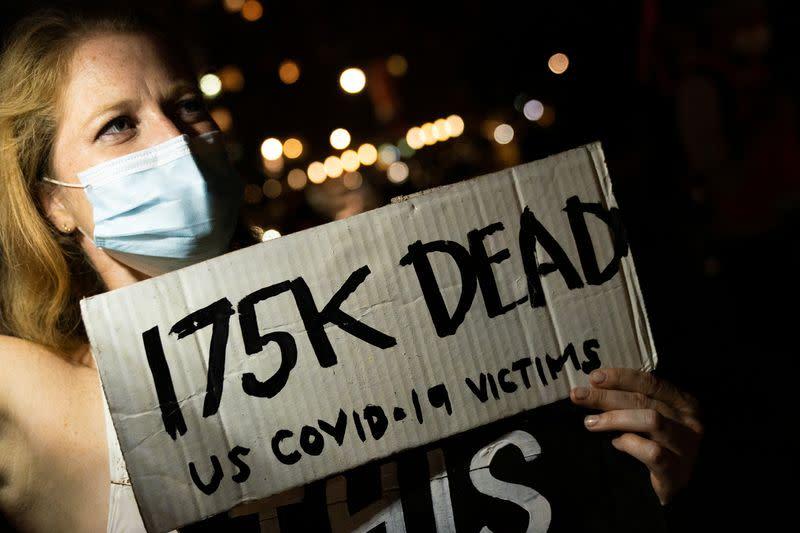U.S. CDC reports 176,223 deaths from coronavirus