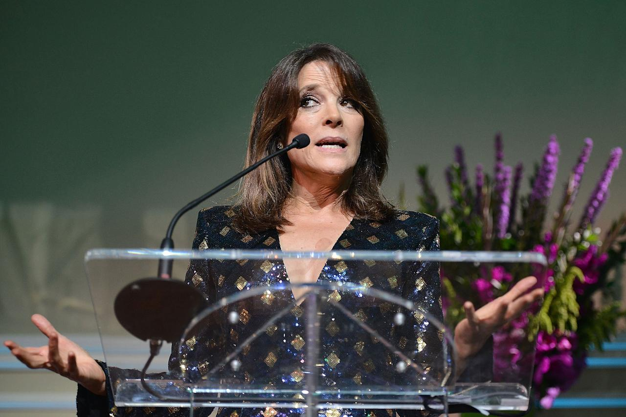 """The 67-year-old <a href=""""https://people.com/politics/marianne-williamson-presidential-candidate-debate-what-to-know/"""" target=""""_blank"""">self-help author and """"spiritual leader</a>"""" said Friday she was leaving the 2020 race, <a href=""""https://www.nytimes.com/2020/01/10/us/politics/marianne-williamson-drops-out.html"""" target=""""_blank"""">according to<em>The New York Times</em></a>.  """"I stayed in the race to take advantage of every possible opportunity to share our message,"""" she said, per the <em>Times</em>.""""With caucuses and primaries now about to begin, however, we will not be able to garner enough votes in the election to elevate our conversation any more than it is now.""""  Williamson first announced her bid in January 2019 — """"to engage voters in a more meaningful conversation about America, about our history, about how each of us fit into it and how to create a sustainable future,"""" she said then.  She was a deeply unconventional candidate who garnered some initial attention from voters, even qualifying for the primary debate stage.  She had no traditional political, business or military experience.Her <a href=""""https://www.marianne2020.com/issues"""">policy platform</a> broadly aligned with the Democratic mainstream, including proposals to combat man-made climate change, reform gun laws and provide universal health care"""