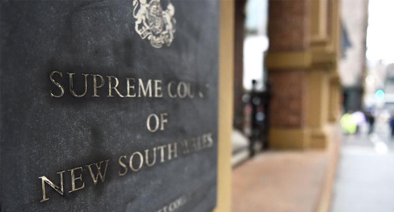 The opening defence was heard at the Supreme Court of NSW, pictured, on Friday.