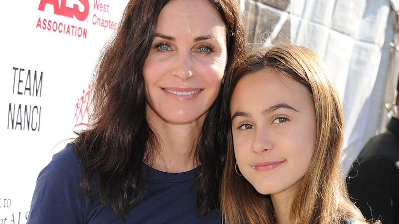 Courteney Cox and Daughter Coco Perform Epic Dance on TikTok: Watch