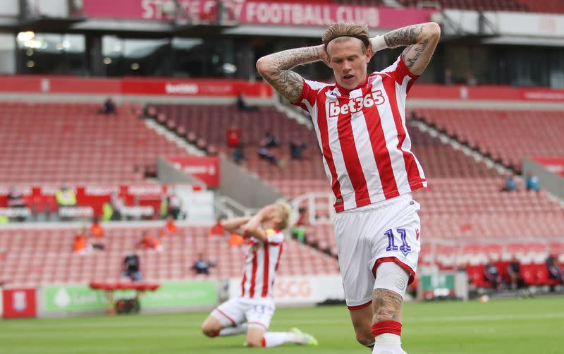 McClean says he gets no support for abuse directed at him