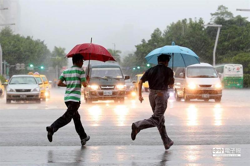 受鋒面影響,今(20)日基隆北海岸及大台北、桃園地區有局部大雨發生的機率。(本報系資料照)