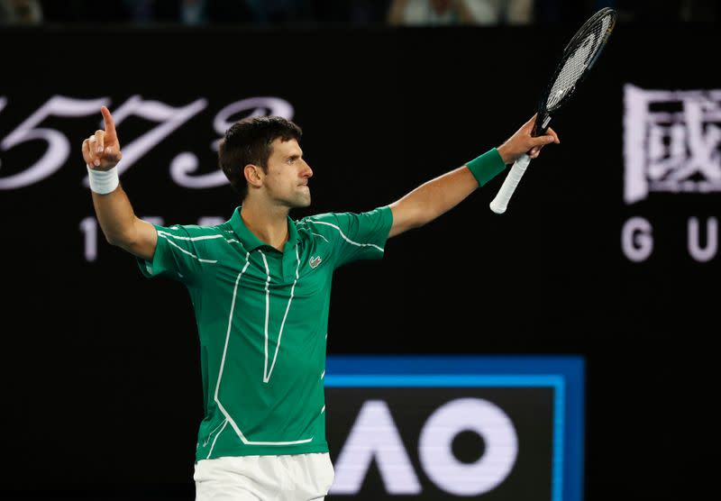 Djokovic edges Thiem in thriller to clinch eighth Australian Open