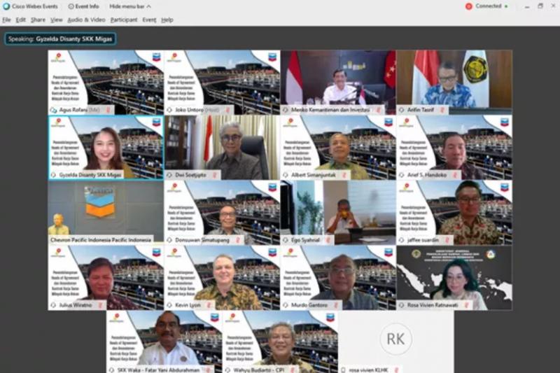 HoA Blok Rokan diteken, Menteri ESDM: Milestone jaga produksi migas