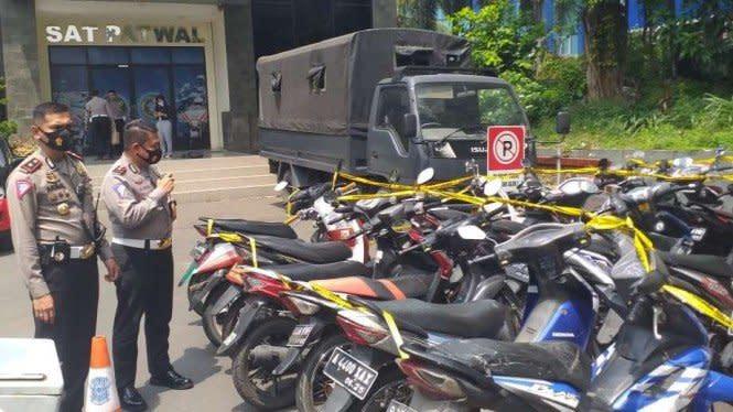 Motor Tertinggal Saat Demo Omnibus Law Bisa Diambil di Markas Polda